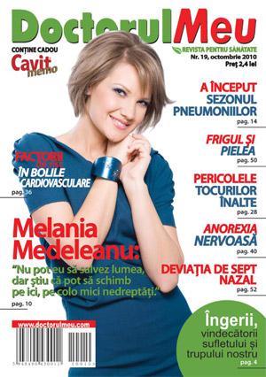 Doctorul meu: interviu - Melania Medeleanu