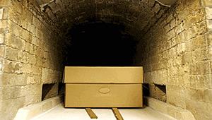 sicriu in crematoriu