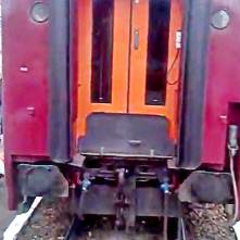 vagon atasat unui tren